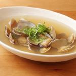 安井 水産 - 料理写真:あさりの酒蒸