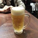 76215387 - 生ビール(キリン一番搾り)♪