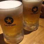 長崎平戸港 大阪福島酒場 - サッポロ生 480円