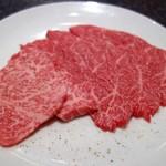 海雲 - 料理写真:上カルビ(1480円)
