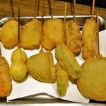 串カツ ジュラク - 料理写真:おまかせ10串