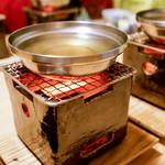 松川 - 個別に煮ます