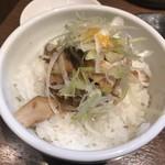 らーめん蓮 - ランチセットの「チャーシュー丼」(150円)