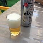 つり堀 武蔵野園 - ビール