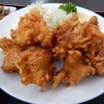 定食 おながま - 料理写真:鶏の唐あげ