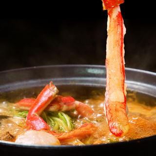 期間限定!◆◇蟹しゃぶ◇◆を贅沢に食べ尽くす♪