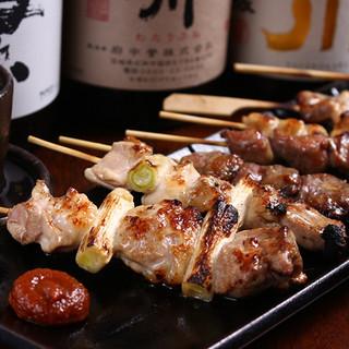 茨城の地鶏で有名な筑波鶏より上の匠美鶏使用