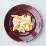 ジャガイモとお魚のロシア風ポテトサラダ