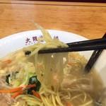 大阪王将 - もっちり中太麺