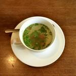 風のえんがわ - スープ。