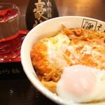 そば助大阪 - 塩だし&カツ丼