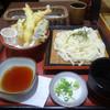 佳楽 - 料理写真:「天ざるうどん」760円+税