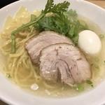 本丸亭 - 本丸塩らー麺、塩煮玉子