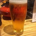 酒と三菜 菜々蔵 - 生ビール♡