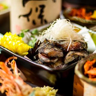 名古屋コーチン使用地鶏創作料理も多数ご用意!