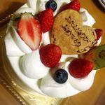 パルファン - 料理写真:デコレーションケーキ!