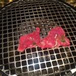 本格焼肉 カンゲン - ロース焼き