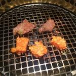 本格焼肉 カンゲン - ロース&ミノ焼き