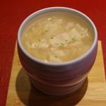 鮨菜 和喜智 - 牡蠣と湯葉の茶碗蒸し