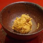 鮨菜 和喜智 - 鮟肝と奈良漬け