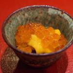 鮨菜 和喜智 - いくらと海胆