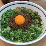 濃厚担々麺 はなび - 料理写真:【再訪】台湾まぜそば