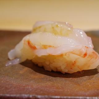 鮨菜 和喜智 - 料理写真:ボタンエビ