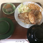 天八 - 豚バター焼定食 飯極小 500円