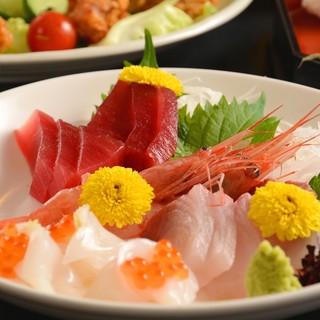 ★鮮-。毎朝仕入れる三河湾の魚を気軽に食す-。