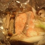 金太郎 - 鮭のホイル焼っす