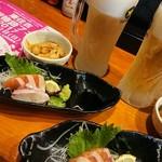 海鮮地鶏酒家 とさ家 - 11/10(金)フェスにて500円セット!!! お得感最高ぉー♪ そしてウマっ!