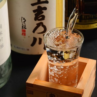 ★地酒-。出張者にも人気の愛知の地酒もご用意-。