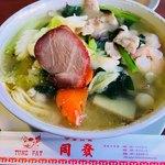 76231167 - 揚州湯麺(五目そば)