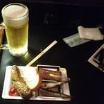 ライオン堂 - 生ビールとプレート