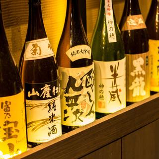 焼き鳥/鶏和食に合う銘酒を多数ご用意!!