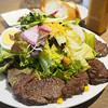 Brasserie MORI - 料理写真:ハラミステーキ&サラダ(M)