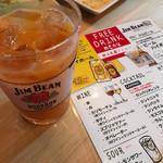 victoria - 飲み放題メニューカンパリオレンジがお店のオススメ( ^ω^ )