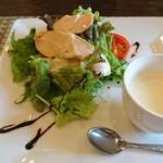 トラットリア フィオーレ - 料理写真:バルサミコがかわいい。美しい盛り付け。