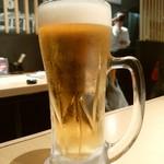 蟻月 - 生ビール