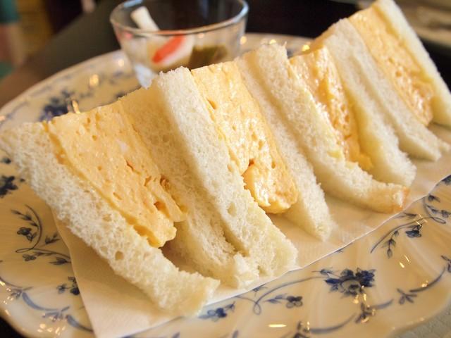 ポルトボヌール - 玉子サンド