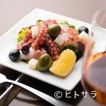 アリエッタ - 海鮮が楽しめる『タコとジャガイモとオリーヴのマリネ』