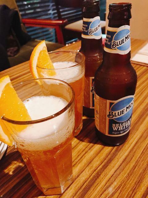 カボット カフェ - ホワイトビールを飲みました!