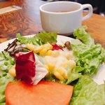 カボット カフェ - サラダとスープ