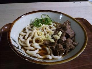 北方うどん - 肉うどん(^^)d