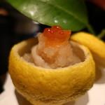 お料理 とみやま - 牡蠣の土佐酢おろしがけアップ