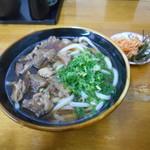 めん処 たけや - 料理写真:肉うどん(中)(^^)v