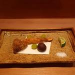 お料理 とみやま - 松茸フライ