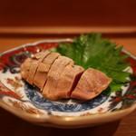 お料理 とみやま - 鶏レバーの西京漬け