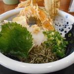 76242431 - 野菜天ぶっかけ(*^^*)