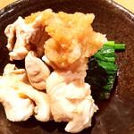 完全個室・肉バル居酒屋 29 ガブリ - 前菜 水炊きっぽくて美味しい